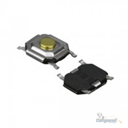Chave Tactil 5.2X5.2X1.6mm Smd